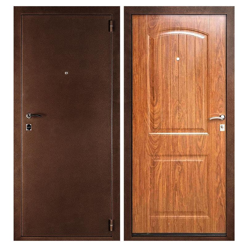 металлические двери классические