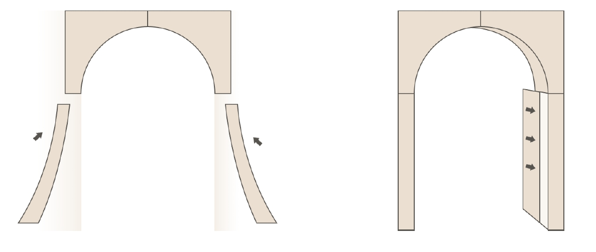 Как установить межкомнатную арку рено своими руками 97